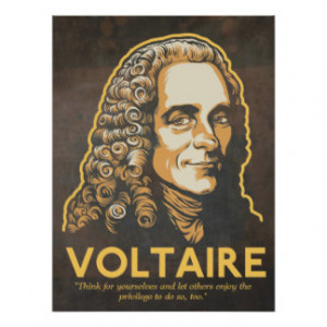 Voltaire Quotes Gifts