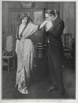 Ethel Barrymore and Henry Edwards Portrait circa 1913