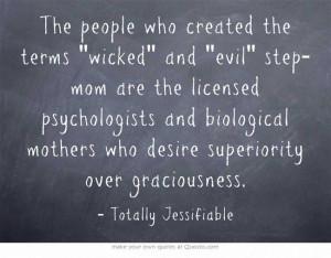 wicked stepmom
