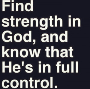 God #strength #quotes