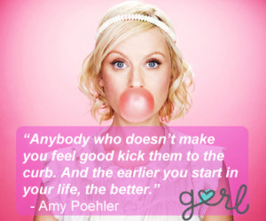 Amy Poehler Quote Bubble Gum Pink copy