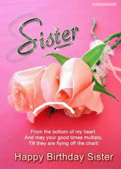 Sister Birthday Quotes For More Visit http://8jig.info/best-sister ...