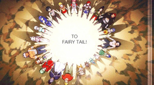 up until the bitter end. That's what it means to be in Fairy Tail ...
