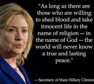 Hillary clinton quotes and sayings