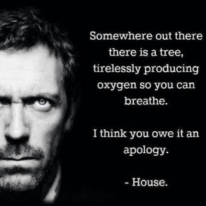... think you owe it an apology.