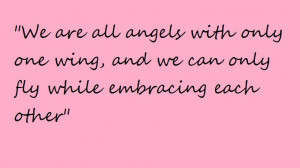 angels, cute, friends, only, quotes - image #441939 on Favim.com ...