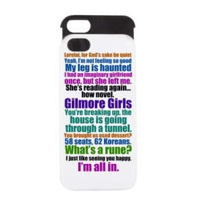Gilmore Girls iPhone Cases