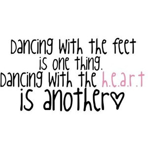 dancing quote. by naley. use (: