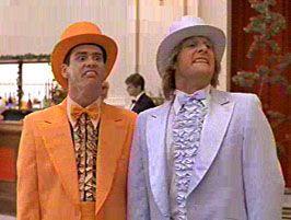 Dumb and Dumber Orange Tuxedo - Licensed Dumb and Dumber Lloyd Costume