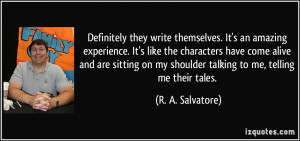More R. A. Salvatore Quotes