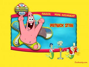 Save as 1024x768 | Next Patrick-SpongeBob Wallpaper