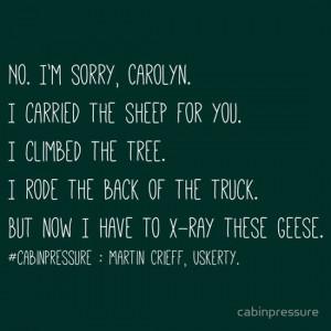 Cabin Pressure - Quote