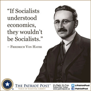 Quote: Von Hayek on Socialists