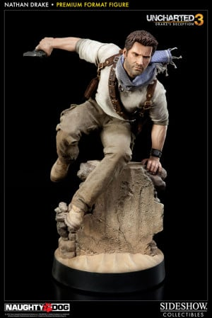 Uncharted 3 Premium Format Figur 1/4 Nathan Drake 42 cm