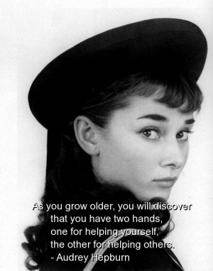 Audrey hepburn quotes sayings cute about life live help