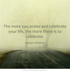 Celebrate, its a new day