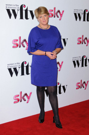 Clare Balding at the WFTV ceremony (WENN)