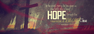 Facebook covers for easter, Christ easter facebook covers, He is risen ...