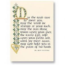 Irish Blessing ;; my grandmother had this in the main hallway of their ...