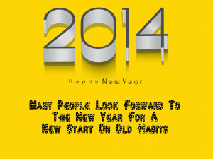 2014 Happy New Year Quotes-And Sayings Wallpapers