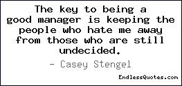 Quotes About Being a Good Manager