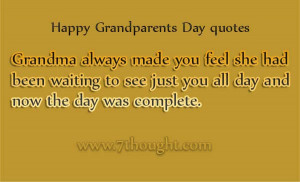 Happy Grandparents Day 2014 Quotes