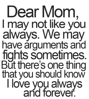 dear mom - mother daughter quotes