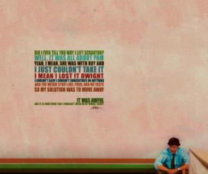 quotes the office john krasinski jim halpert HD Wallpaper of General