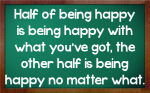 quotes about being happy no matter what others think