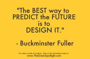 Buckminster Fuller quotation graphic #1