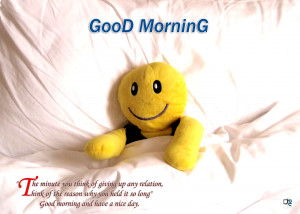 morning text doesn't only mean 'Good morning.' It also means 'I ...