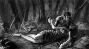 Orpheus And Eurydice Drawing Orpheus and eurydice-01 by
