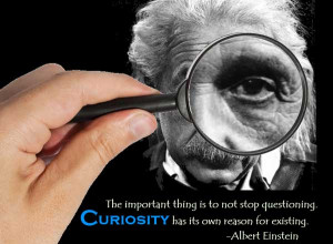 Curiosity has its own reason for existing