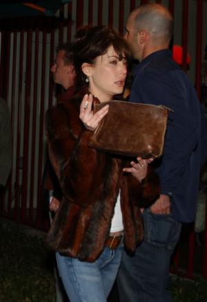 Lara Flynn Boyle Smoking
