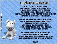 Dog's Bedtime Prayer TLH pic