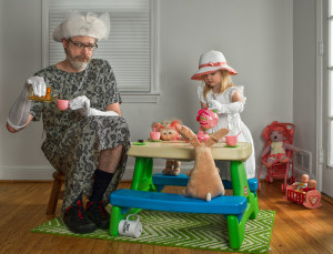 Dave Engledow, the world's best father, created some funny and ...