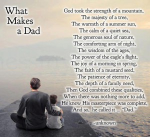 amazing quote for father