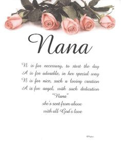 Quotes About Nana...