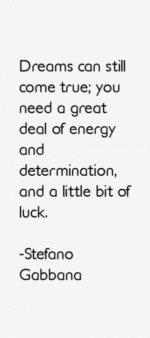Stefano Gabbana Quotes & Sayings