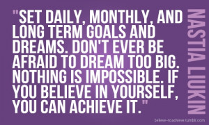 The Best Quotes for Goal Setting