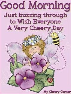 saturday tweety quotes   Good morning via My Cheery Corner page on ...