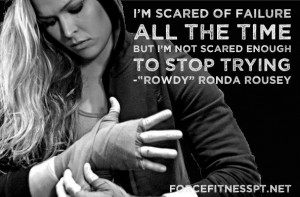 Ronda Rousey, Quotes, MMA, UFC, Fitness, Gym Motivation, Inspiration ...