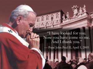 Pope John Paul Ii Quotes Pope john paul