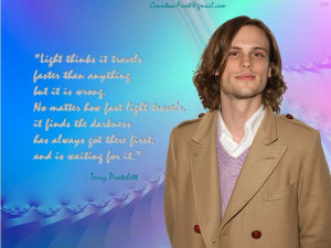 Criminal Minds Reid quotes Pratchett