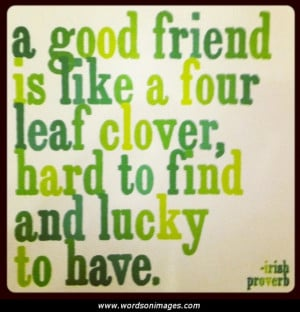 Irish friendship quotes