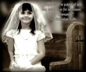 First Holy Communion - Quotes & Prayer