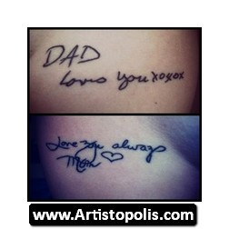 For Lost Loved Ones Tattoo...