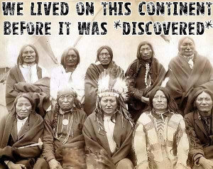 Native American quote banners