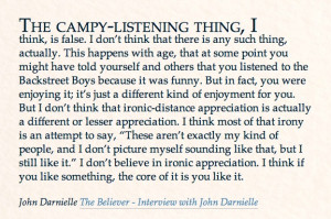 john darnielle in the believer.