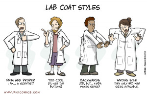 PHD Comics: Stylin'. So true, but fortunately I actually found one ...